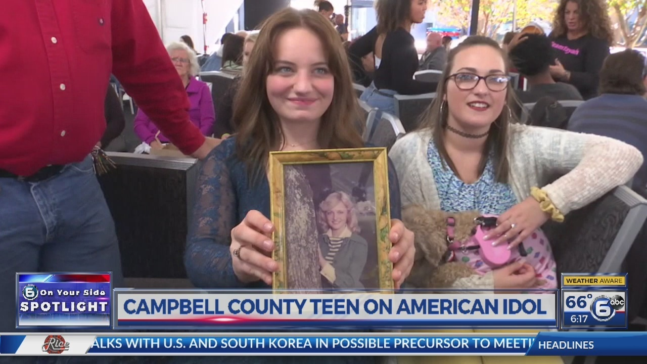 Campbell county teen to appear on american idol m4hsunfo