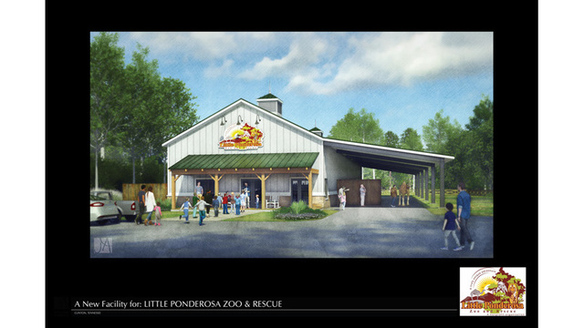 Design firm donates plans for new barn at Little Ponderosa Zoo