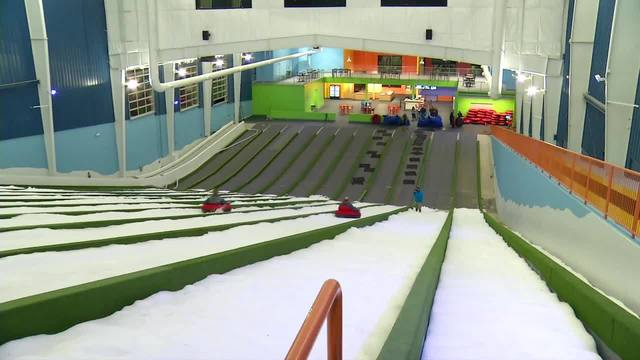 1st Indoor Snow Tubing Park In Us Opens In Pigeon Forge