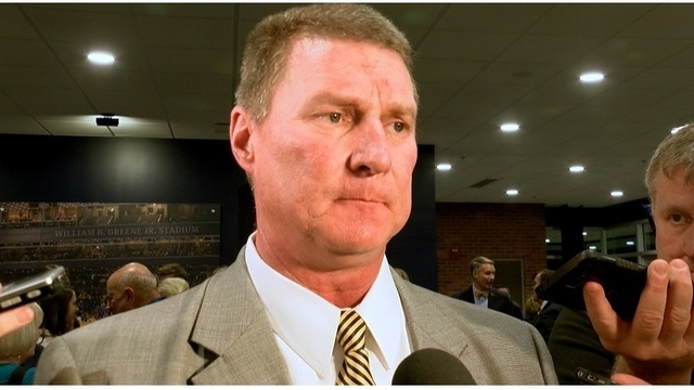 ETSU football coach Randy Sanders placed on leave pending investigation