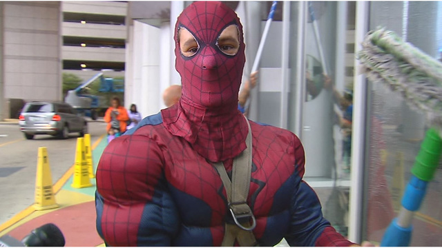 Spiderman window washer sentenced to 105 years for child porn