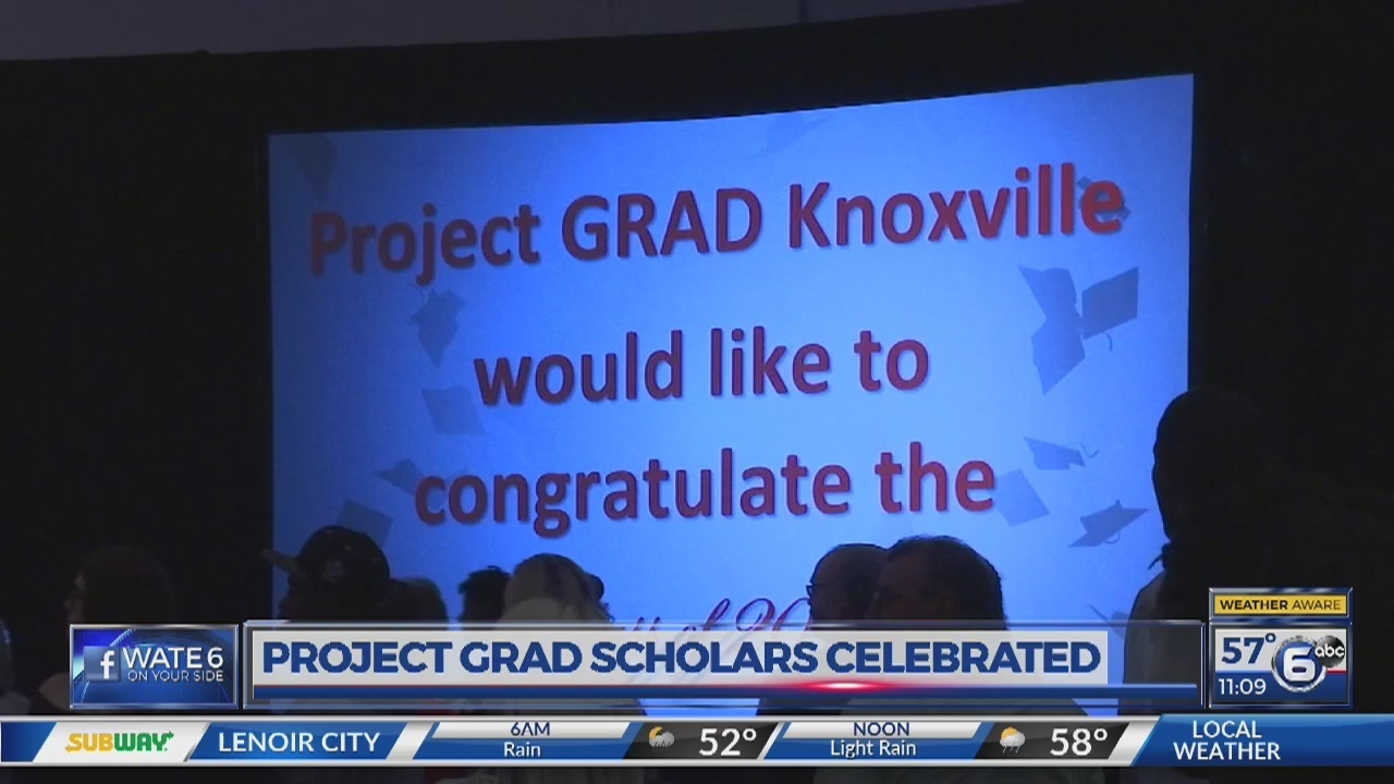Project Grad scholars celebrated