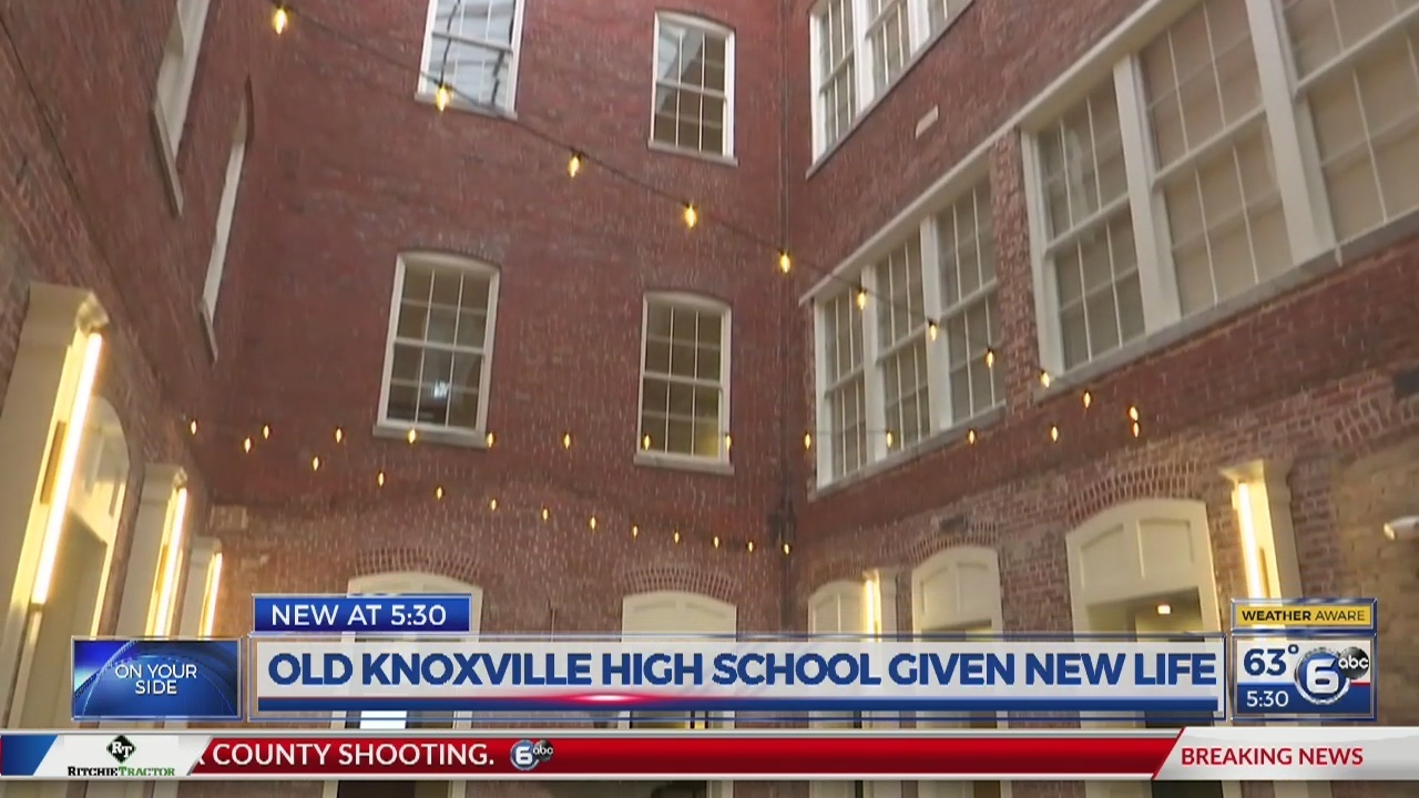 Historic Knoxville High building reopens as senior living facility