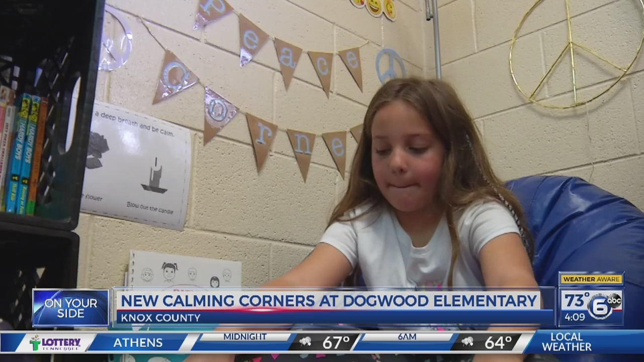 'Calming corners' help Knox County students relax