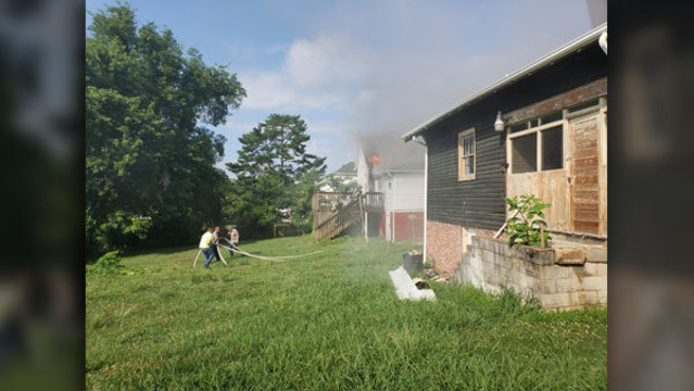 Fire Crew Responds To North Knoxville House Fire