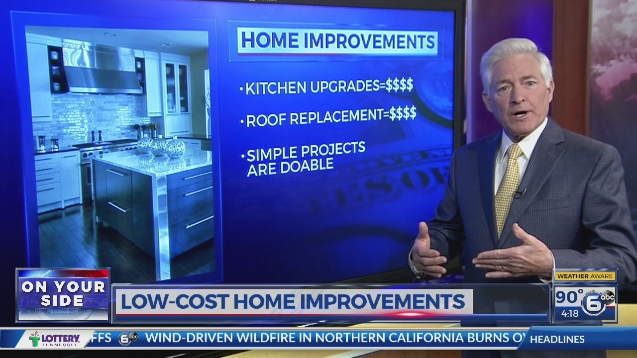 6 inexpensive ways to improve your home wate for Cheap ways to improve your home