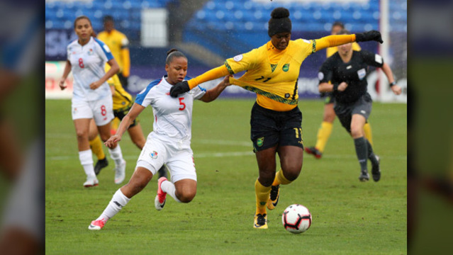 Ut S Bunny Shaw Leads Jamaica To First Ever Women S World Cup