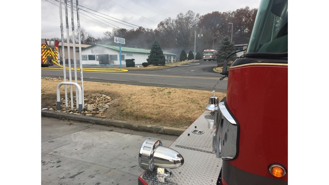 Fire Department: No injuries, evacuations in Sevierville structure fire