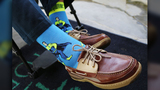 Entrepreneur who bonded with George H.W. Bush over colorful socks creates tribute sock
