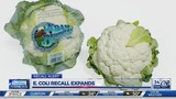 E.Coli recall expands to other produce