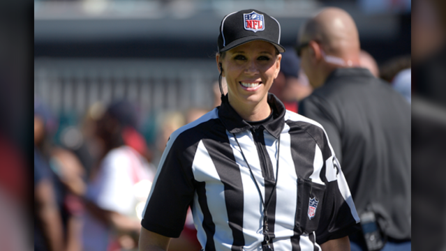 NFL playoff game to feature female referee for the first time
