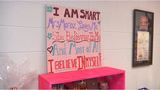 Teacher shows students the power of positivity in school and in life