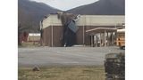 Wind blows roof off Greene County elementary school gym