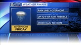 Weather AWARE: Few showers to start the day