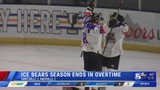 Ice Bears season ends in overtime playoff loss