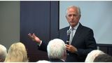 Fmr. Sen Bob Corker holds town hall discussion in Knoxville